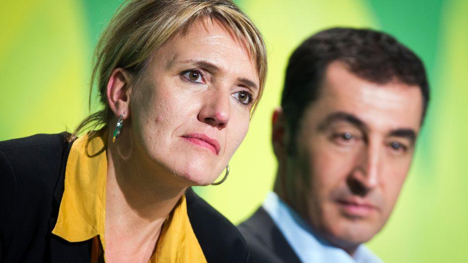 Neue Grünen-Spitze Peter und Özdemir: Mit Mehrheiten für Veränderung ist nicht zu rechnen