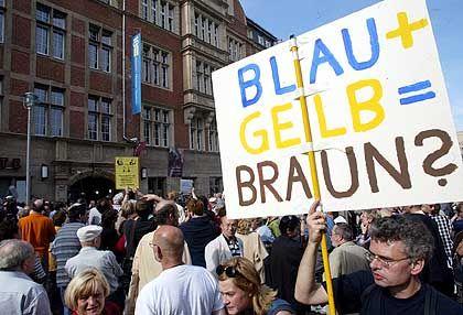 Protest vor der FDP-Zentrale in Berlin