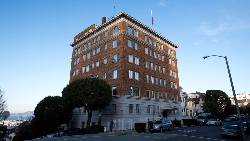 Russisches Konsulat in San Francisco
