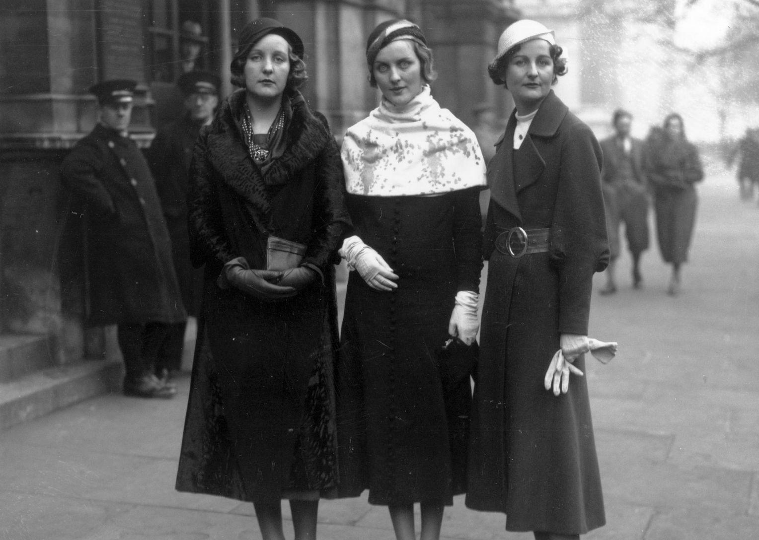 Три сестры Митфорд: Юнити, Диана и Нэнси
