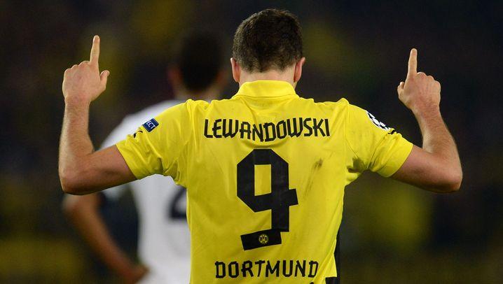 BVB-Gala gegen Real Madrid: Lewandowski, Lewandowski, Lewandowski, Lewandowski