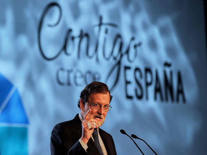 Spanischer Premier Mariano Rajoy