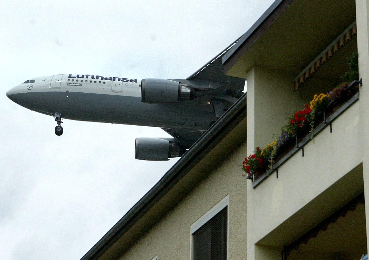 NICHT VERWENDEN Fluglärm / Flughafen Berlin-Tegel