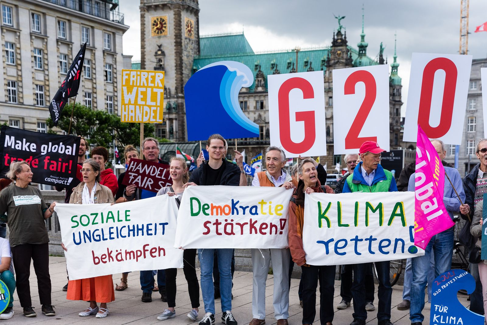 G20-Protestwelle