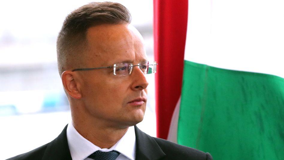 Ungarns Außenminister Péter Szijjártó