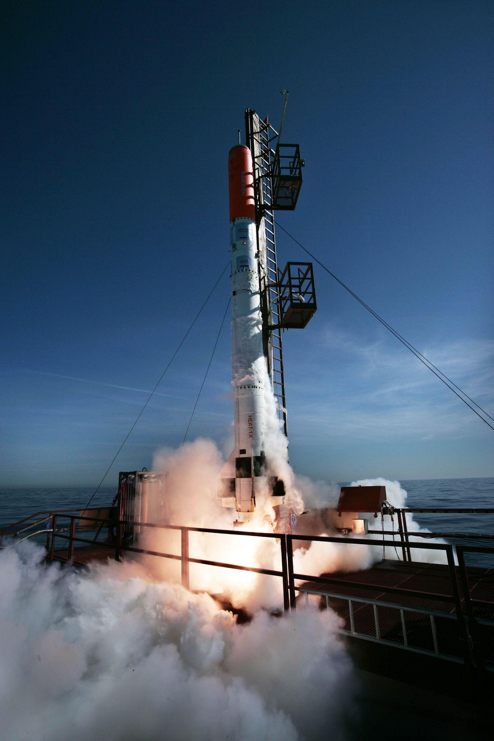 Copenhagen Suborbitals Rakete/ Peter Madsen