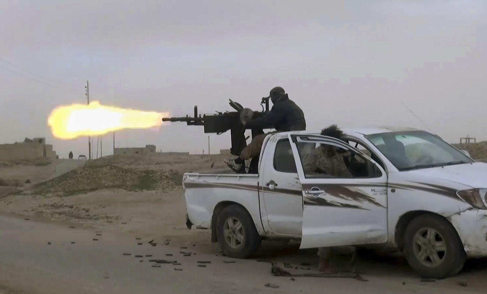 Syria Islamic State Redux