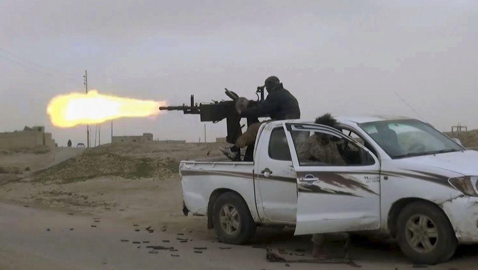IS-Kämpfer (undatiertes Handoutbild)