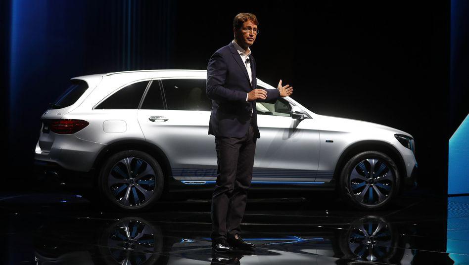 Neuer Chef, alter Ärger: Daimler-Boss Ola Källenius