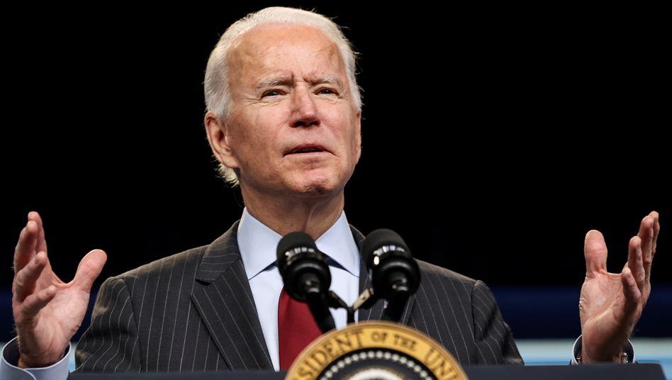 US-Präsident Biden: »Wegen dieser Pandemie sind mehr Amerikaner gestorben als im Ersten Weltkrieg, dem Zweiten Weltkrieg und dem Vietnamkrieg zusammengenommen«