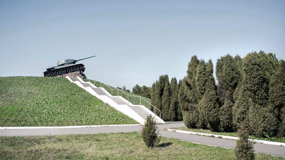 Panzerdenkmal bei Malajeschty