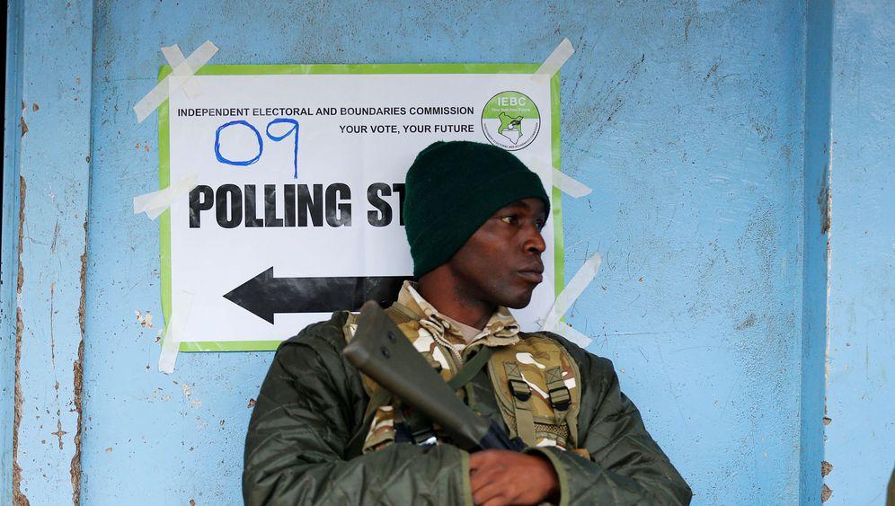 Kenia: Wenig Wahl, viel Gewalt