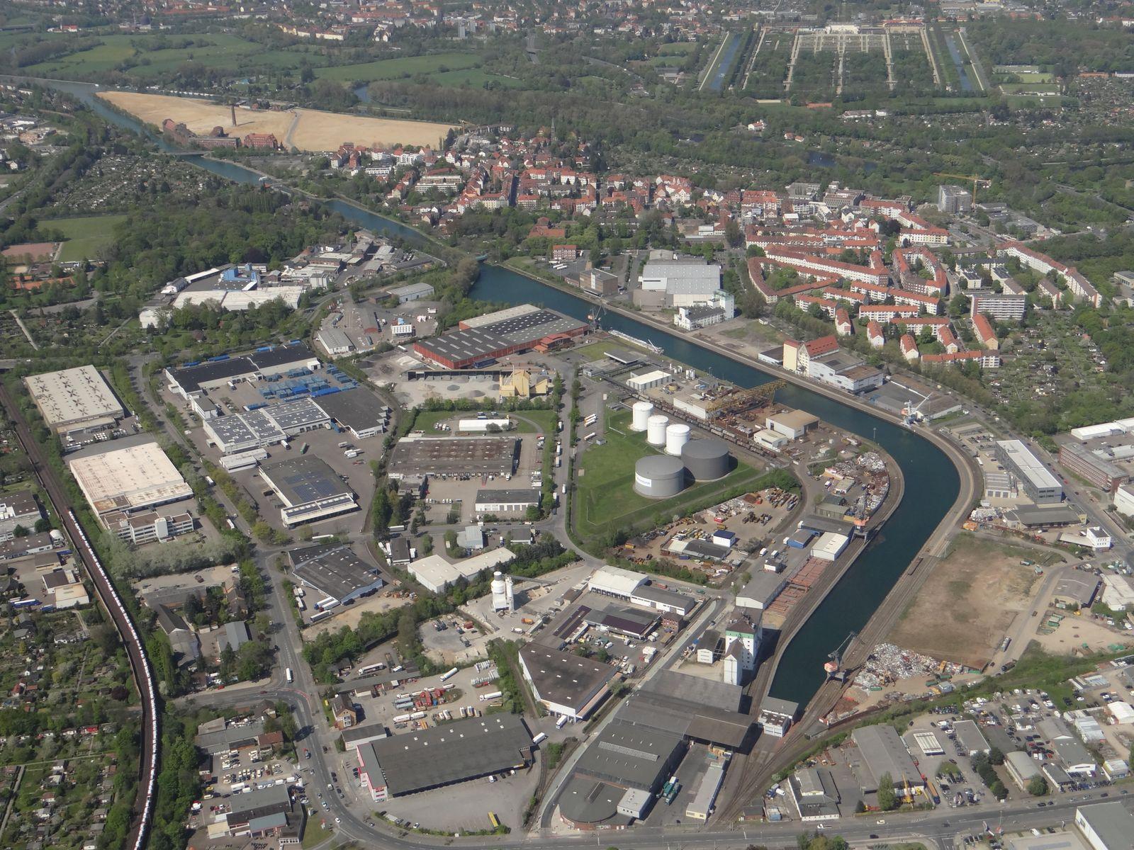 Hafen Hannover-Linden
