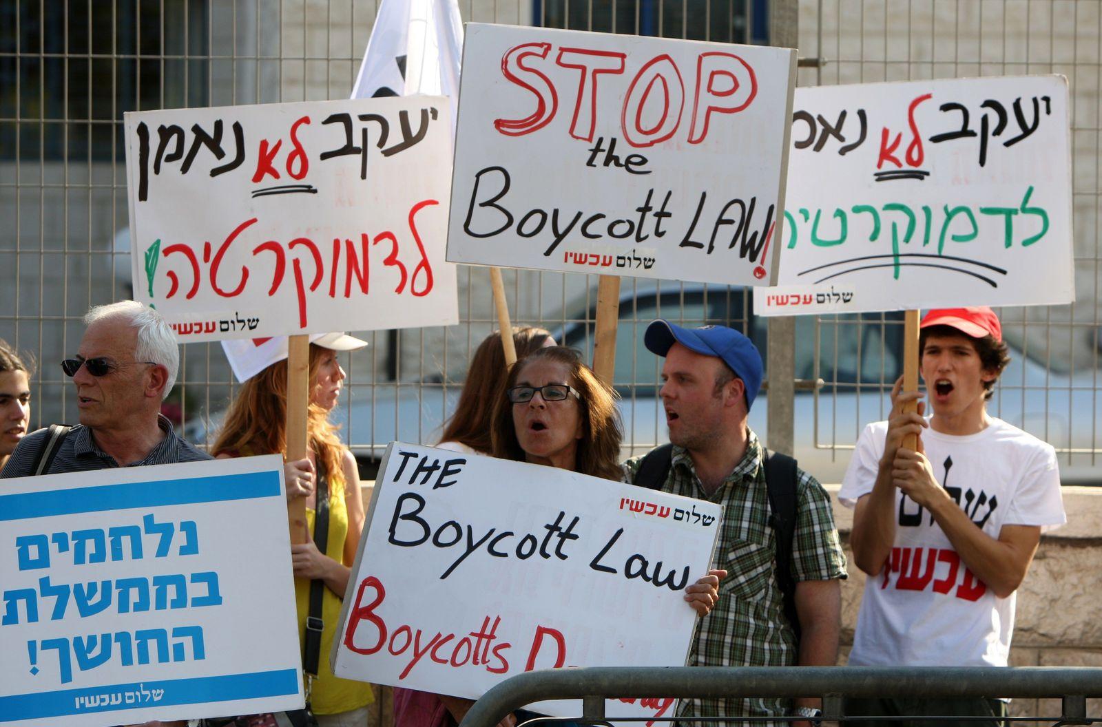 Israel boykott