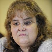 Kassiererin Barbara E.: Sie bestreitet die Tat