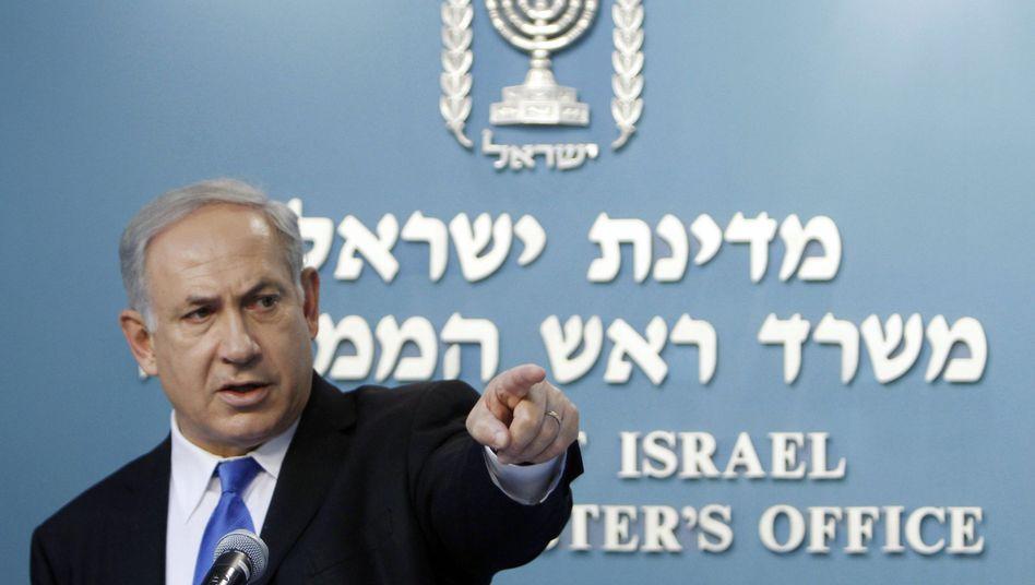 Israels Ministerpräsident Netanjahu: Den Besitz von Nuklearwaffen offiziell nie bestätigt
