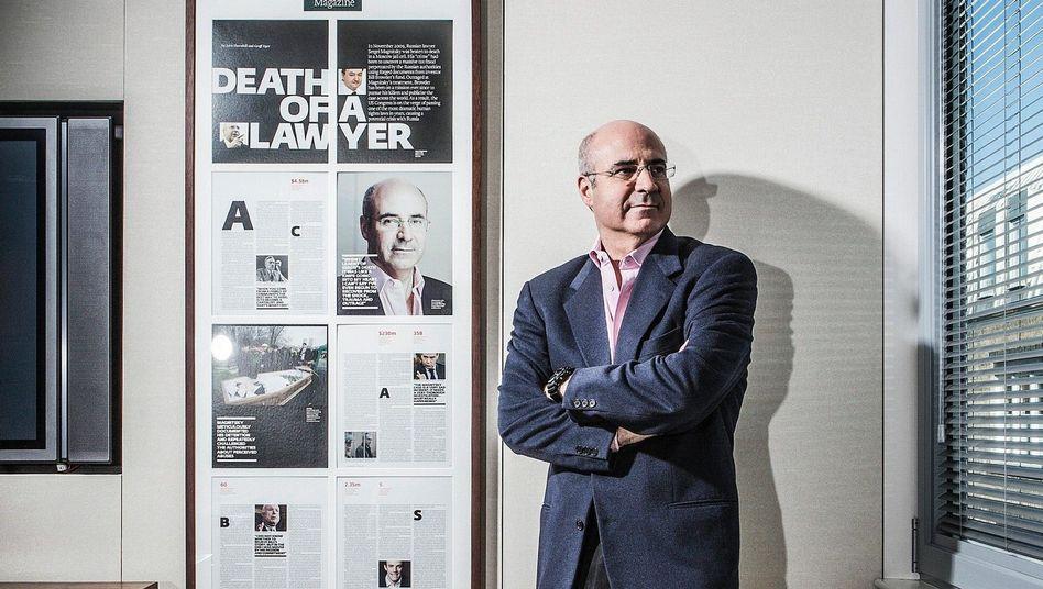 Aktivist Browder in London