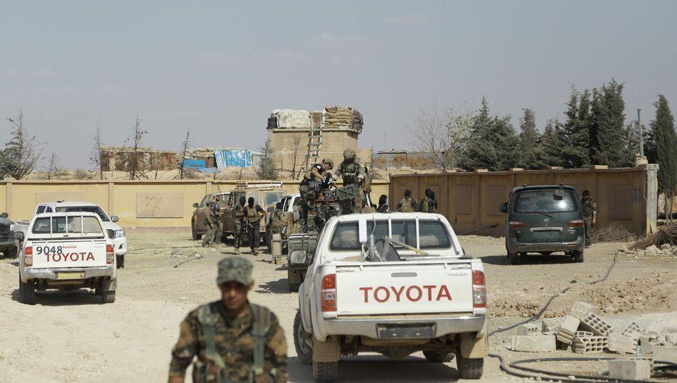 US-Soldaten in Syrien