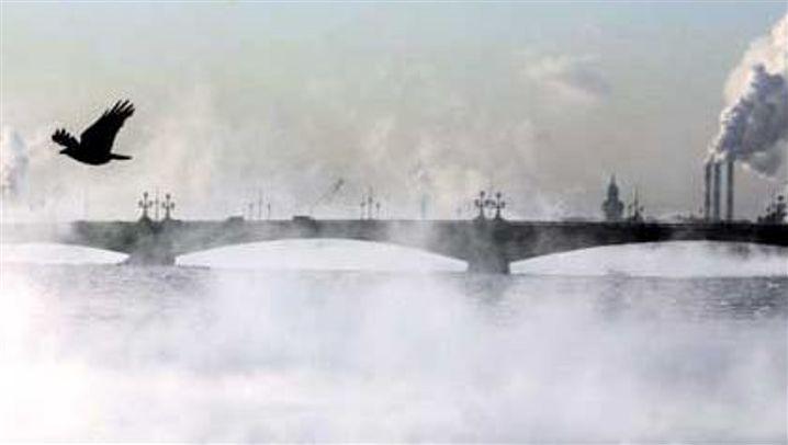Russische Kälte: Erstarrt in Eis und Schnee