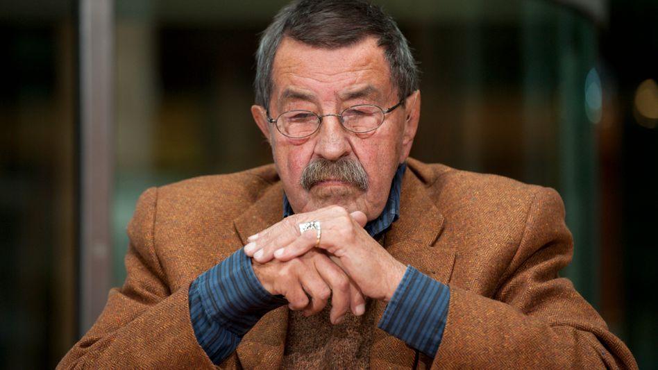 """Günter Grass (im Oktober 2011): """"Alte Klischees bemüht"""""""