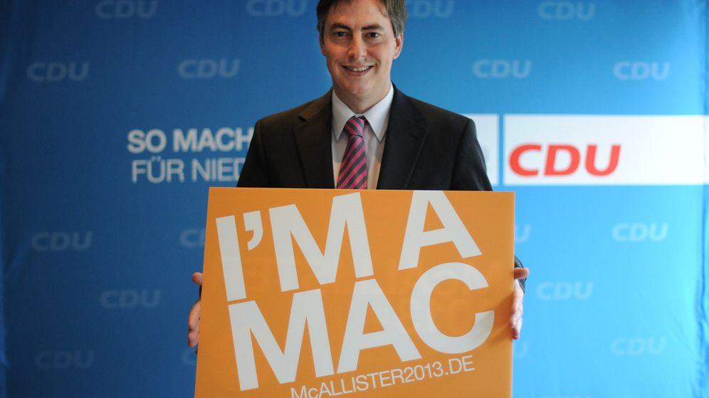 Niedersachsen-CDU: McAllisters Häuptlingssong
