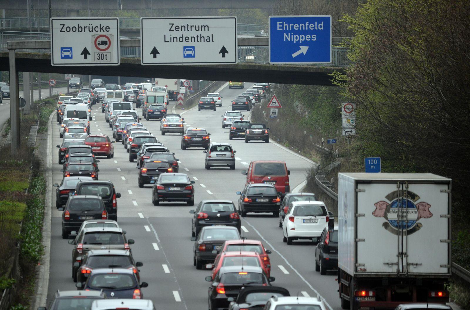 A57 in Köln