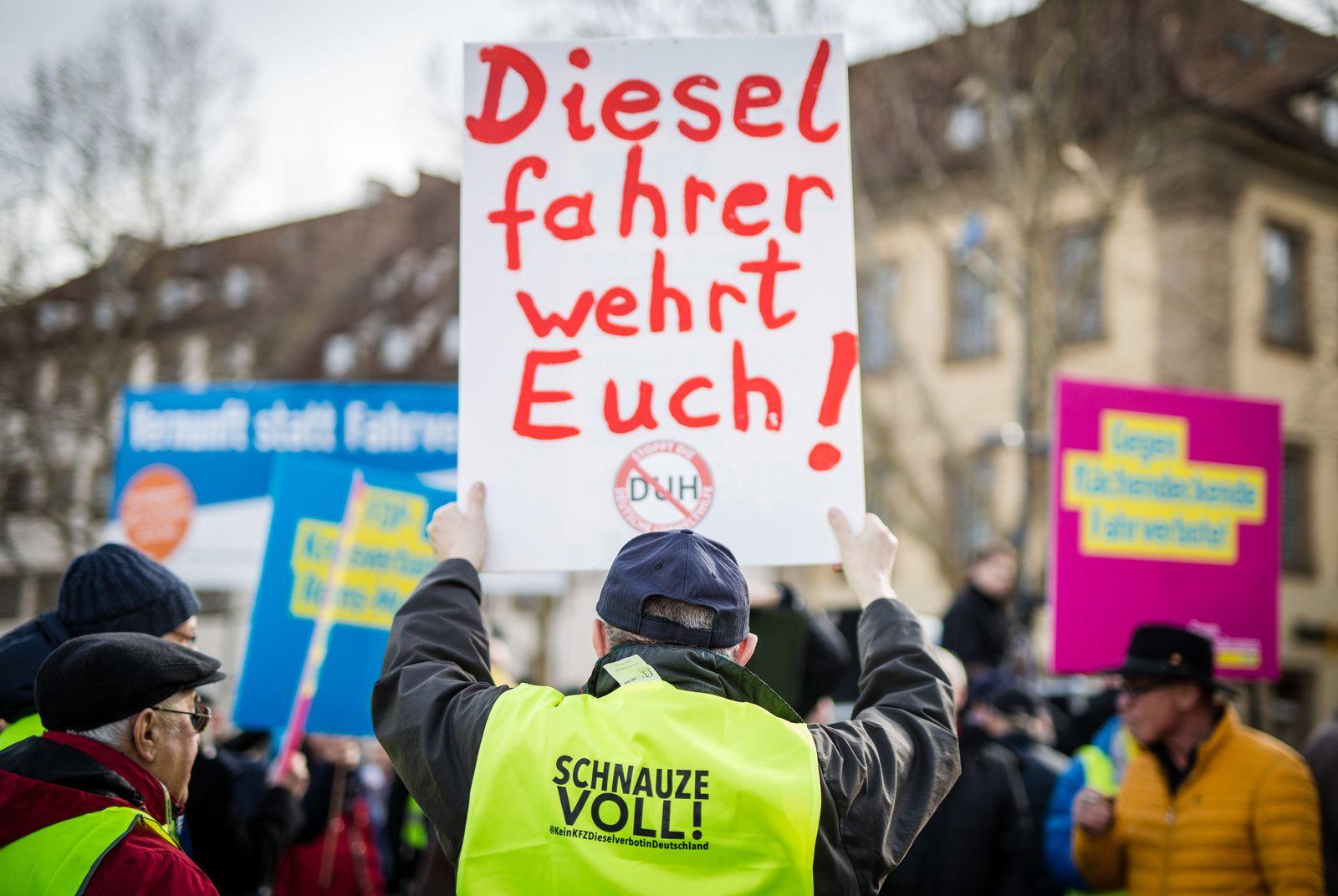 Demo Dieselfahrer