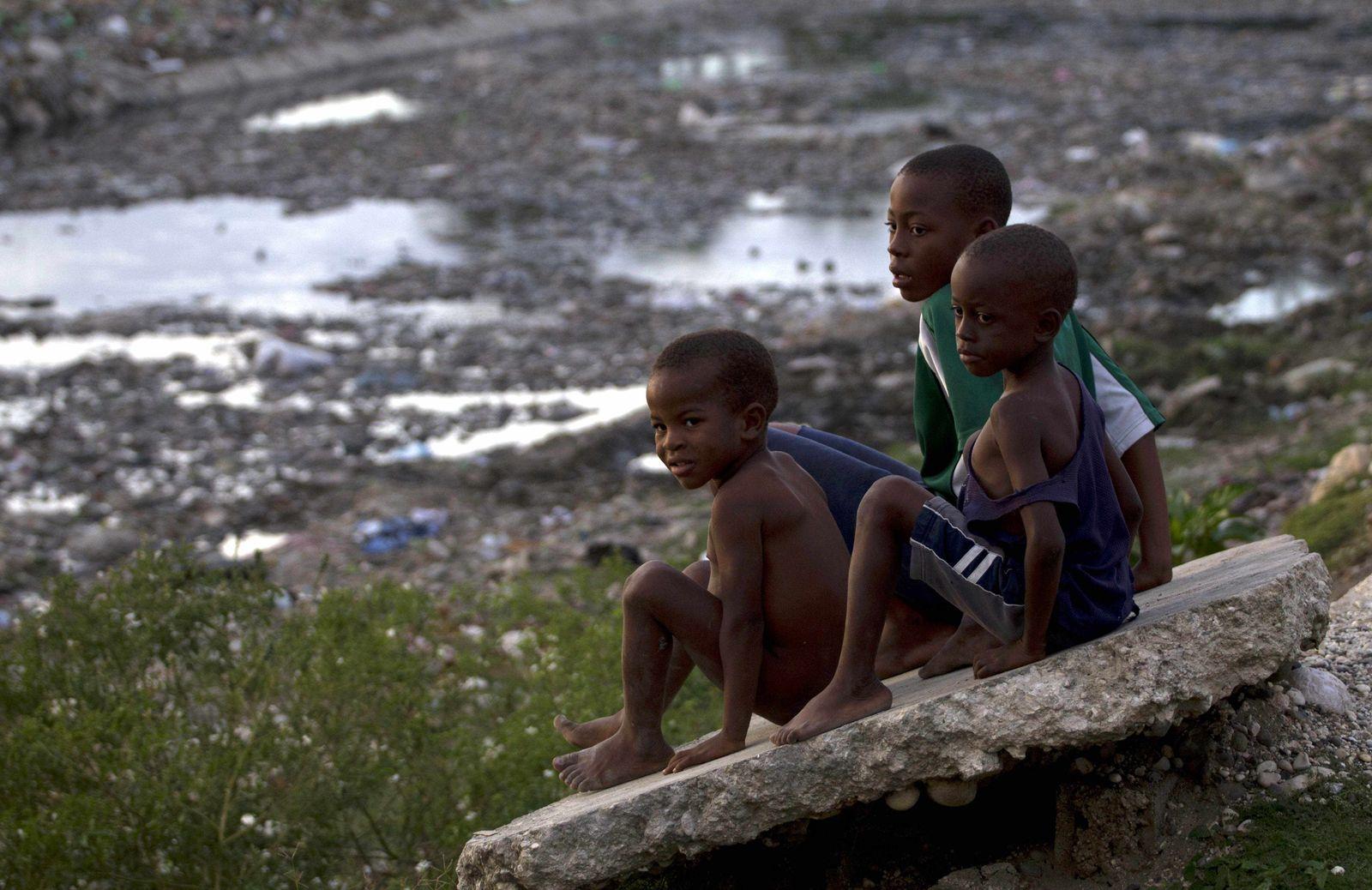 Haiti/ Cholera Epidemie