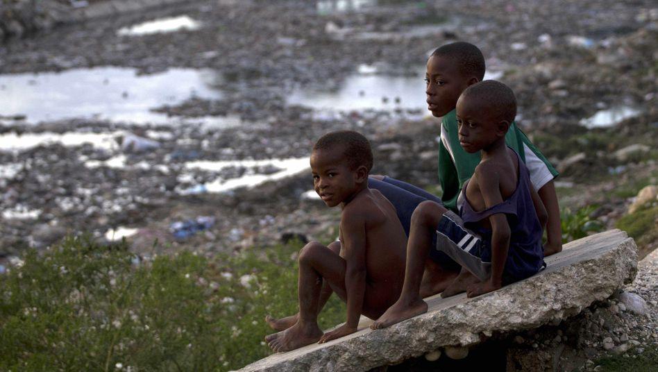 Kinder in Haiti: Sie sind besonders von Sklaverei bedroht