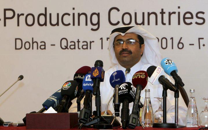 Opec-Präsident bin Saleh