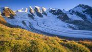 Dramatische Gletscherschmelze in den Alpen