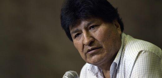 Bolivien: Haftbefehl gegen Evo Morales aufgehoben