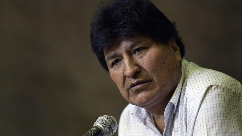 Evo Morales will nach Bolivien zurückkehren