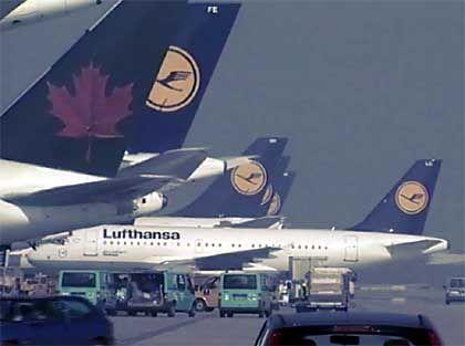 Flugzeuge am Flughafen München: Kapazität für bis nzu 40 Millionen Passagiere