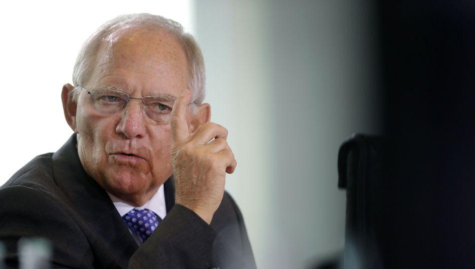 """Finanzminister Wolfgang Schäuble: """"Ich bin über 70, ich lerne ja auch kein Chinesisch mehr"""""""