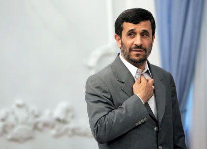 """Irans Präsident Ahmadinedschad: """"Für unseren Weg entschieden"""""""