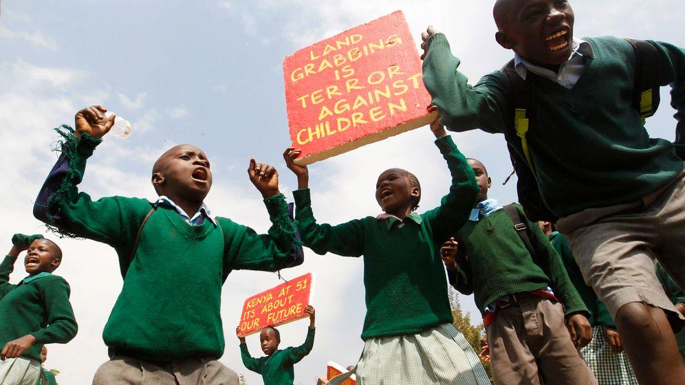Kampf um einen Spielplatz in Nairobi: Mit Tränengas auf Grundschüler