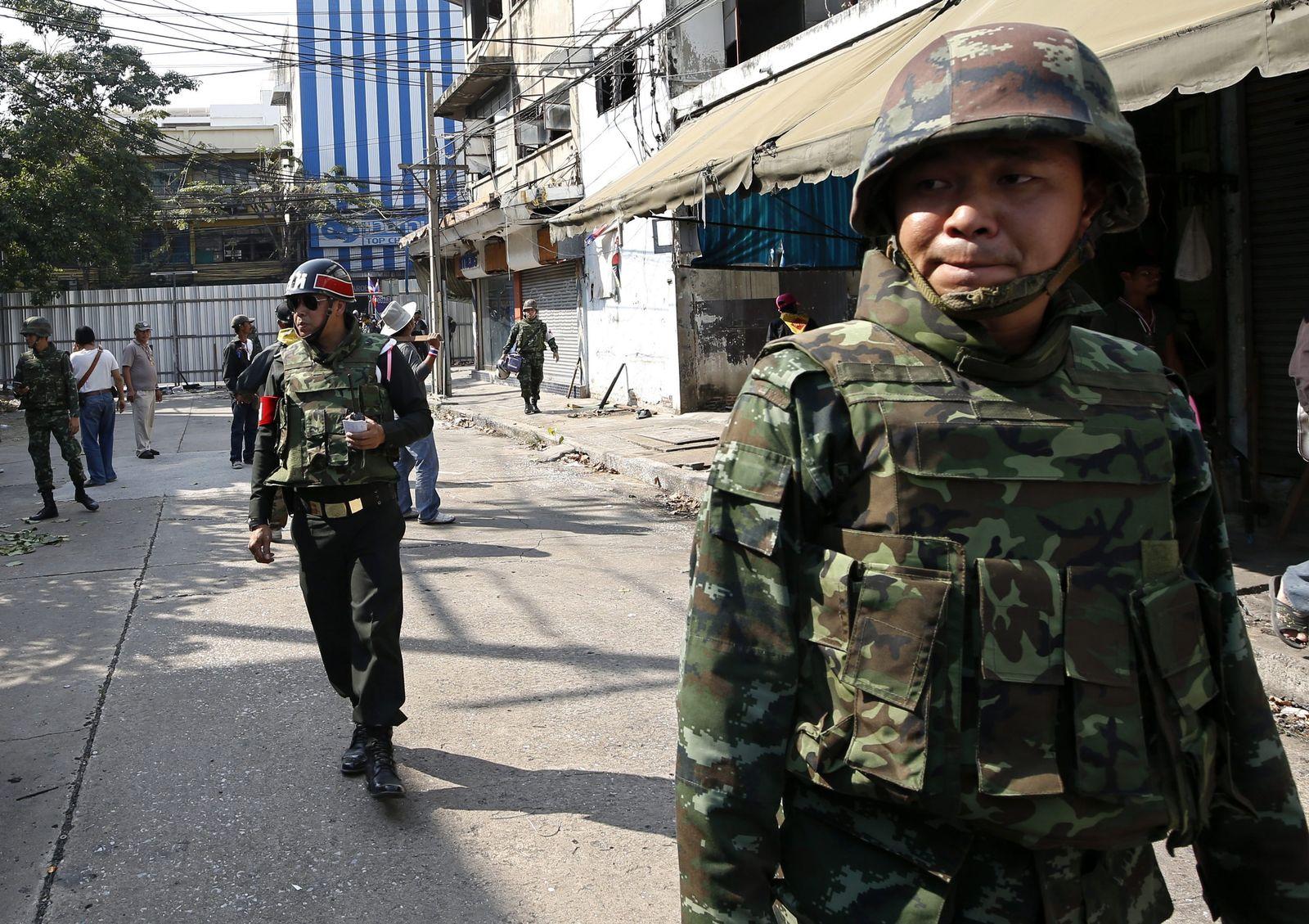 Thailand / Soldaten