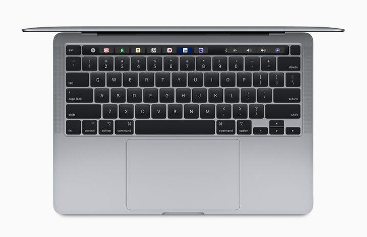 Für Pragmatiker die wichtigste Neuerung am neuen MacBook Pro: Das sogenannte Magic Keyboard, eine Tastatur mit Scherenmechanik