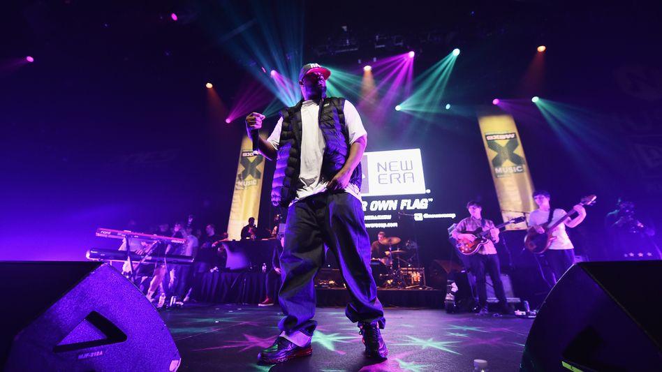 Der Rapper Ghostface Killah während eines Konzerts des Wu-Tang Clan in Austin, Texas: Der Käufer des Albums soll ein US-Amerikaner sein