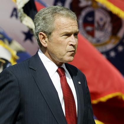 Unpopuläre Entscheidung: Präsident Bush stoppte das SCHIP-Programm