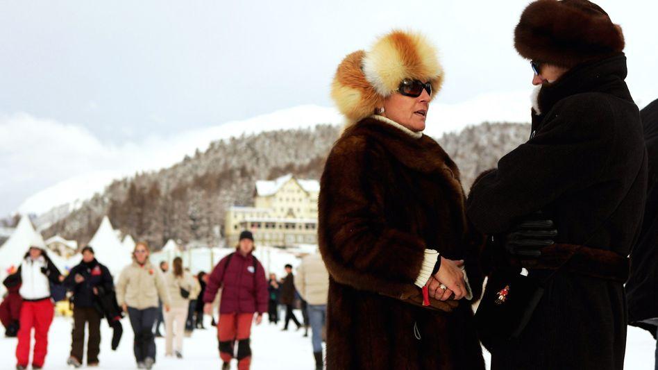 Skiort St. Moritz in der Schweiz: Im Schnitt fast 140.000 Euro Vermögen pro Kopf - netto