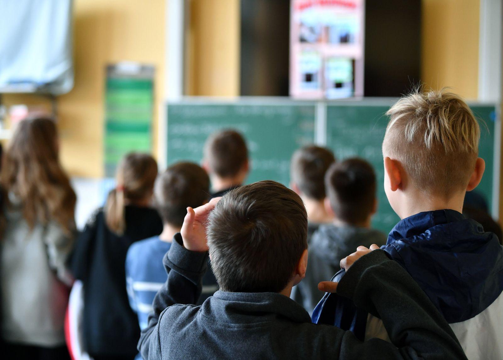 Klassenraum in Thüringen
