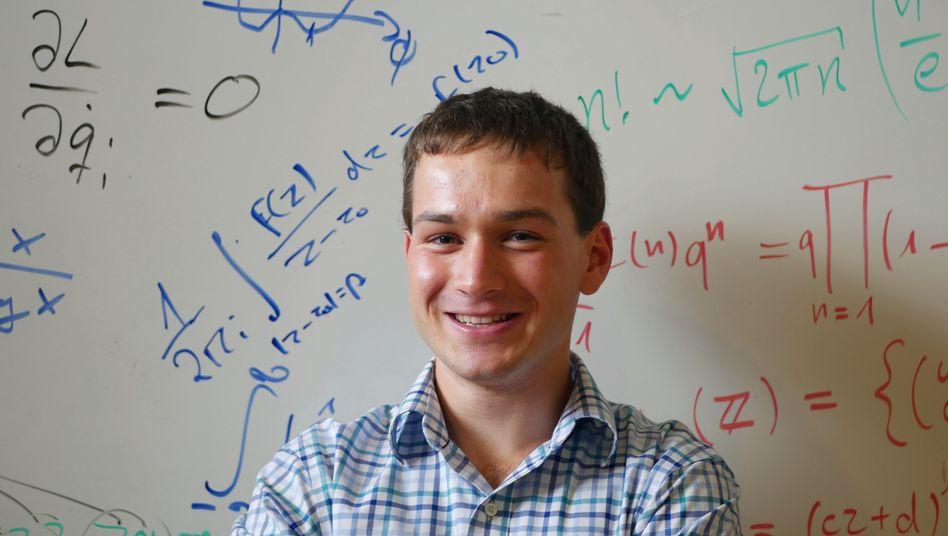 Benjamin Wolba studiert an der TU Dresden