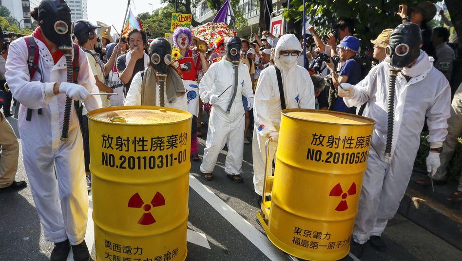 Anti-Atomkraft-Demo in Tokio: Neue Partei für die Umwelt