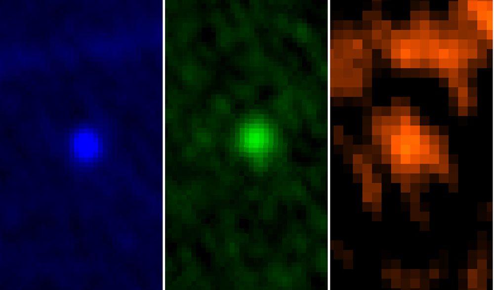 EINMALIGE VERWENDUNG Asteroid Apophis / Herschel / ESA