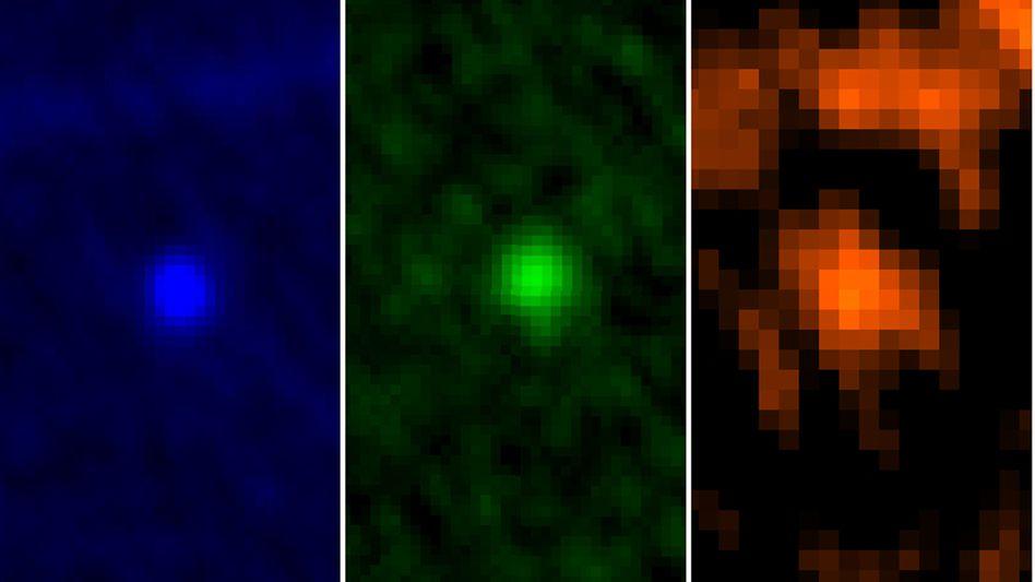 Apophis in drei Farben: Asteroid auch 2036 keine Gefahr für die Erde