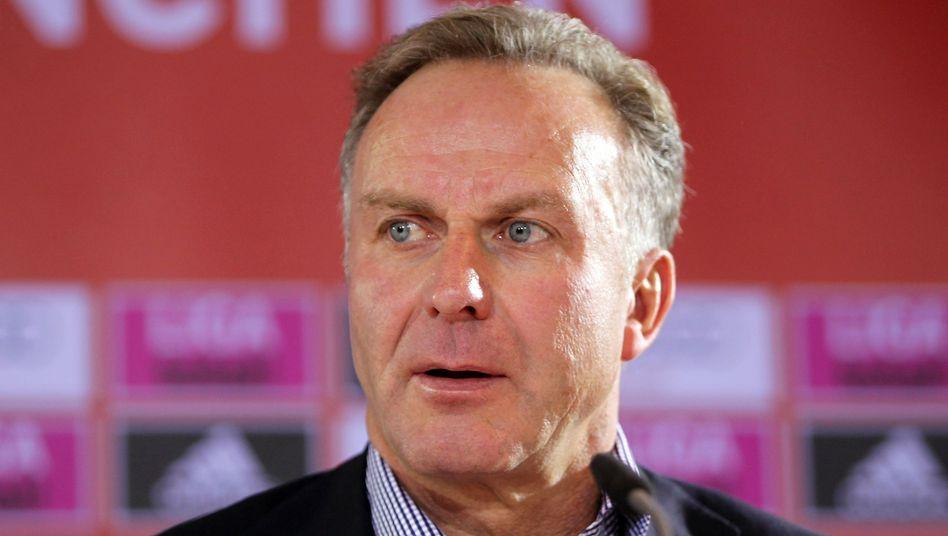 Bayern-Boss Rummenigge: Deutliche Kritik an Blatter