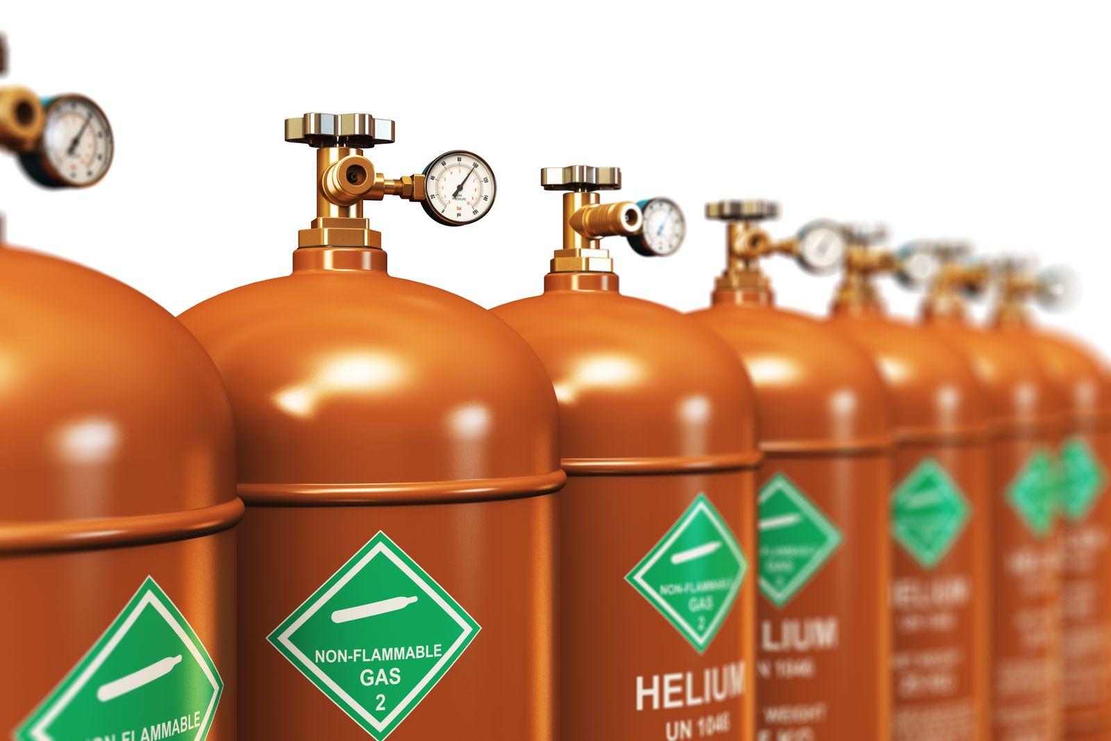 EINMALIGE VERWENDUNG Helium