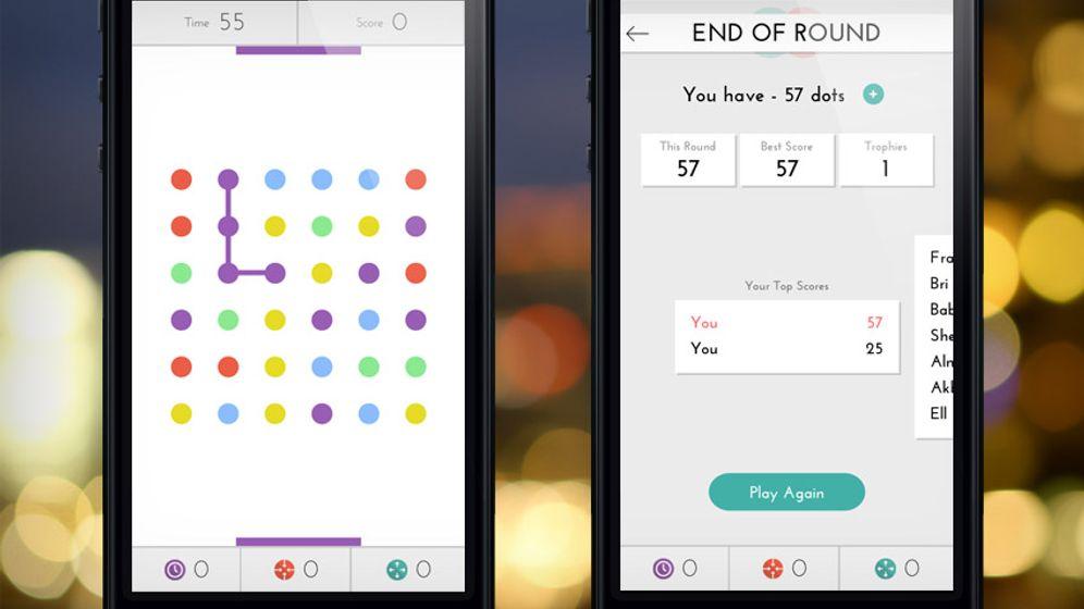 "Kostenlose App: ""Dots"" macht süchtig"